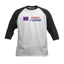 No Bush No Clinton Baseball Jersey