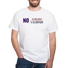 No Bush No Clinton T-Shirt