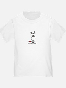 I Love californian Rabbits T