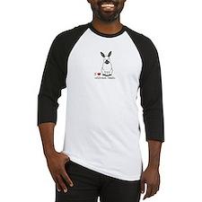 I Love californian Rabbits Baseball Jersey
