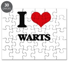 I love Warts Puzzle