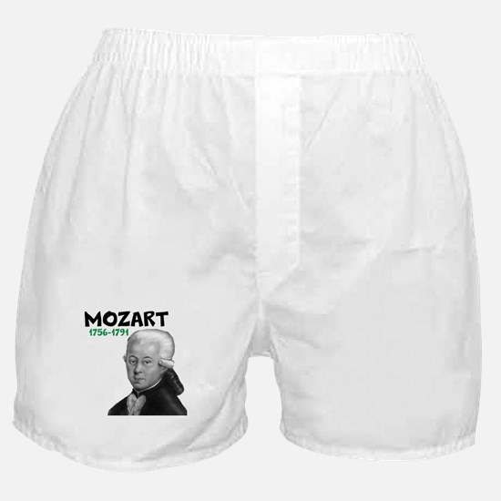 Mozart: Musical Genius Boxer Shorts