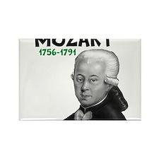 Mozart: Musical Genius Rectangle Magnet