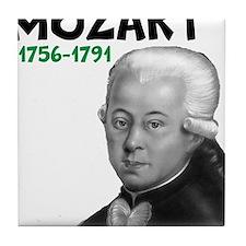 Mozart: Musical Genius Tile Coaster