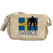 Sverige Ishockey Messenger Bag