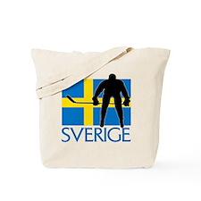 Sverige Ishockey Tote Bag