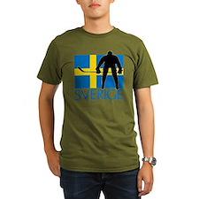 Sverige Ishockey T-Shirt