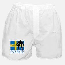 Sverige Ishockey Boxer Shorts