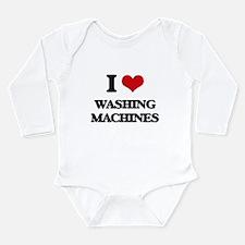 I love Washing Machines Body Suit
