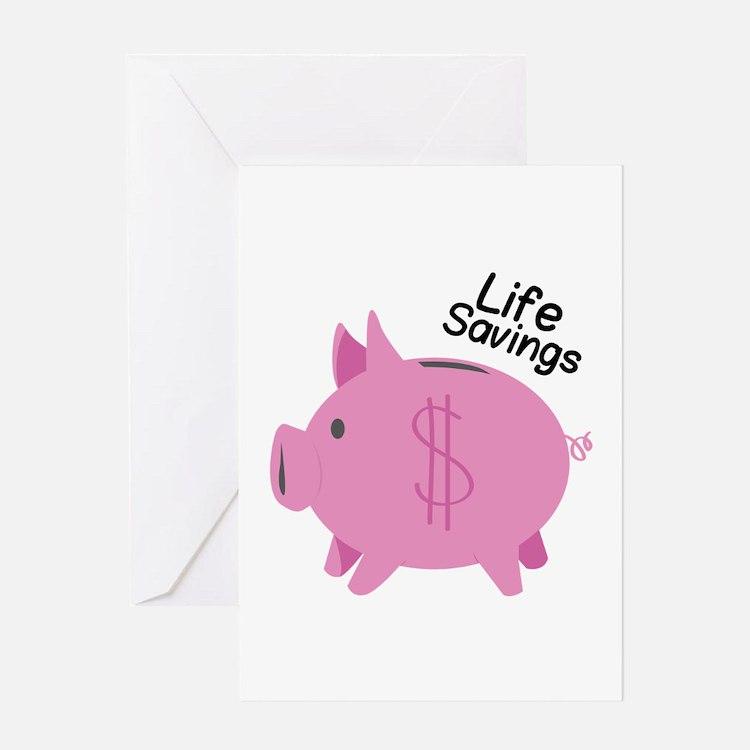 Life Savings Greeting Cards