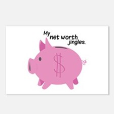 My Net Worth Jingles Postcards (Package of 8)