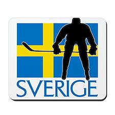 Sverige Ishockey Mousepad