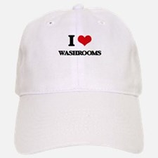 I love Washrooms Baseball Baseball Cap