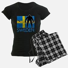 Sweden Hockey Pajamas