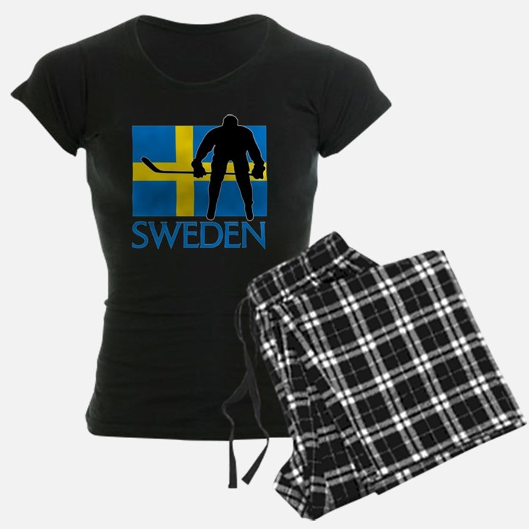 Sweden Hockey Pajamas