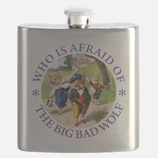 Who Is Afraid Of The Big Bad Wolf Flask