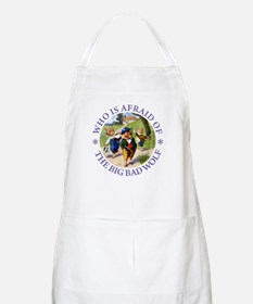 Who Is Afraid Of The Big Bad Wolf Apron