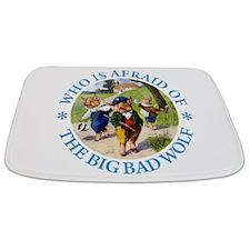 Who Is Afraid Of The Big Bad Wolf Bathmat
