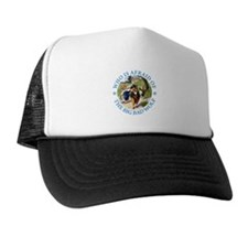 Who Is Afraid Of The Big Bad Wolf Trucker Hat