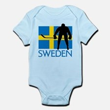 Sweden Hockey Body Suit