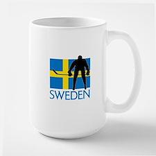 Sweden Hockey Mugs