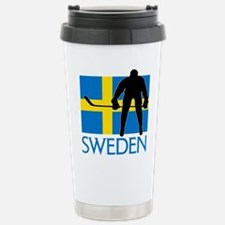 Sweden Hockey Travel Mug
