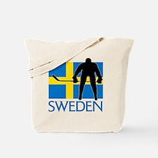 Sweden Hockey Tote Bag