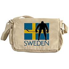 Sweden Hockey Messenger Bag