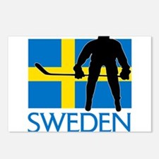Sweden Hockey Postcards (Package of 8)
