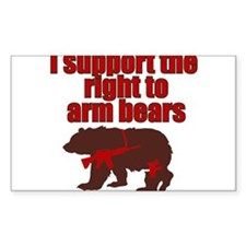 Cute Bear arms Decal