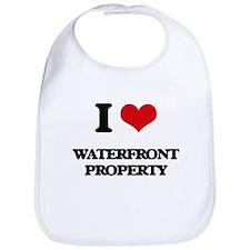 I love Waterfront Property Bib