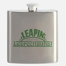 Leapin Leprechauns Flask