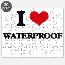 I love Waterproof Puzzle