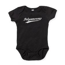 Team Polyamory Polyamorous and Proud Baby Bodysuit