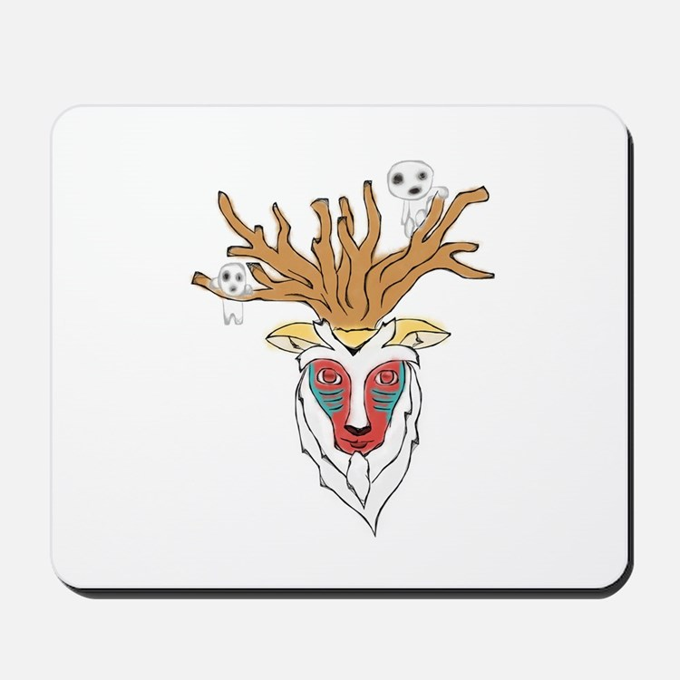 Forest guardian Mousepad
