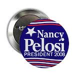 Nancy Pelosi for President 2008 (Button)