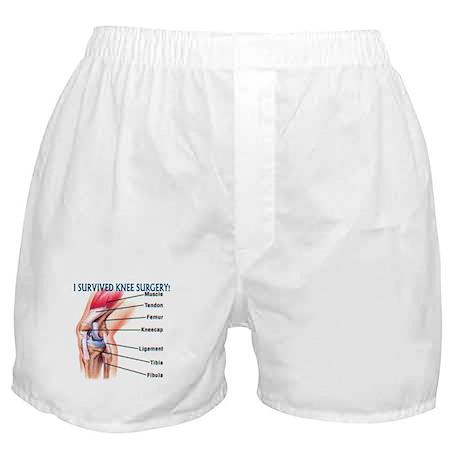 Knee Surgery Gift 6 Boxer Shorts