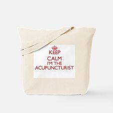 Keep calm I'm the Acupuncturist Tote Bag