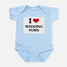 I love Wedding Vows Body Suit