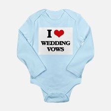 I love Wedding Vows Body Suit