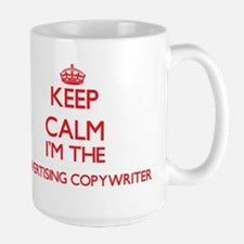 Keep calm I'm the Advertising Copywriter Mugs