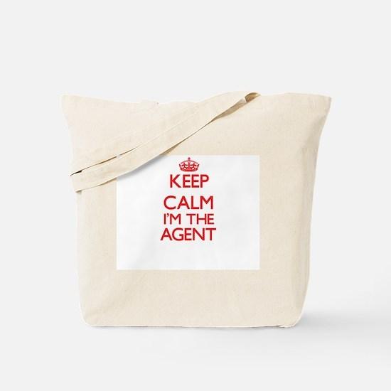Keep calm I'm the Agent Tote Bag