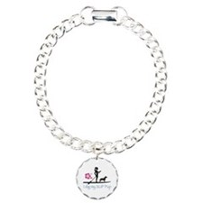 Paddleboard Dog and Girl Bracelet