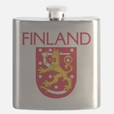 Finland Coat of Arms Flask
