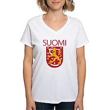 Suomi Coat of Arms Shirt
