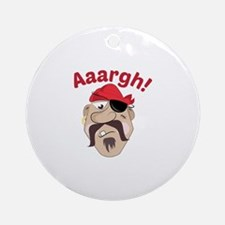 Aaargh! Ornament (Round)