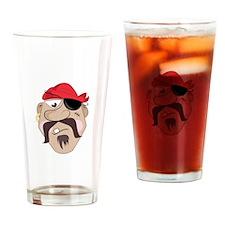 Pirate_Base Drinking Glass