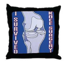 Knee Surgery Gift 5 Throw Pillow