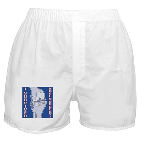 Knee Surgery Gift 5 Boxer Shorts
