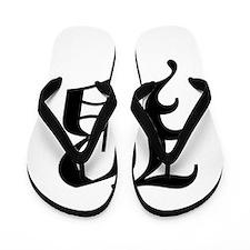 B-oet black Flip Flops